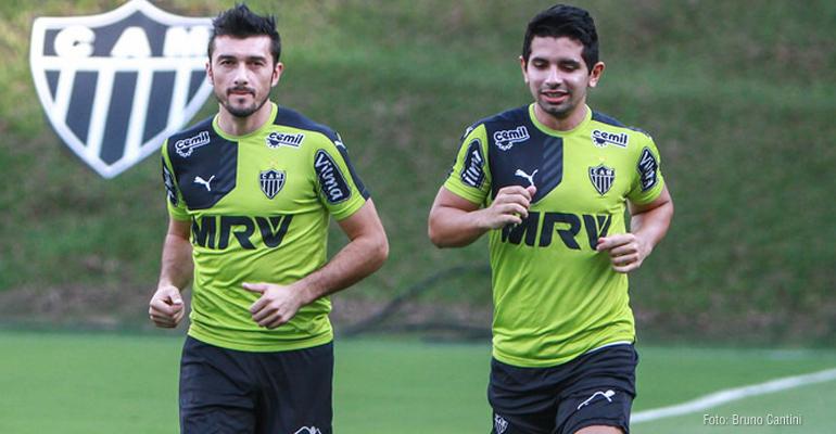 Atlético-MG desenha volta de Dátolo e Guilherme na Libertadores