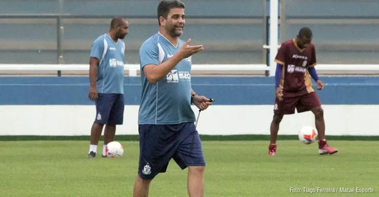 Macaé faz último treino visando jogo contra o Oeste