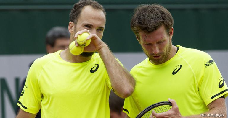 Bruno Soares e Alexander Peya vencem bielorrussos em Wimbledon
