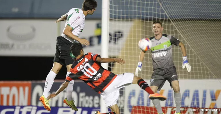 América-MG conquista empate contra o Atlético-GO no Serra