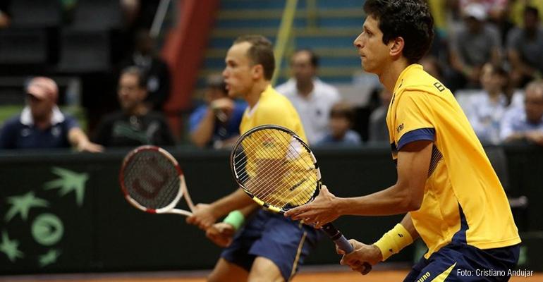 Bruno Soares já está em Florianópolis para a Copa Davis