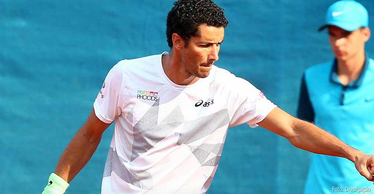 André Sá vai às quartas do ATP de Estocolmo