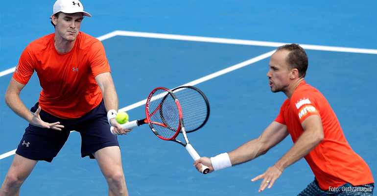 Bruno Soares vai à semifinal do Australian Open