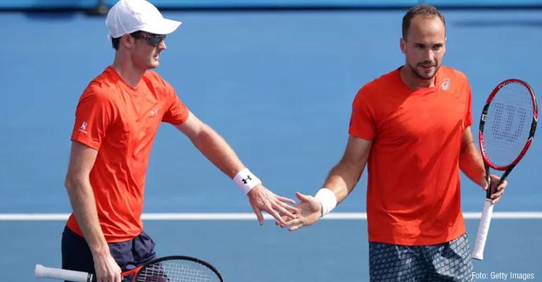 Bruno Soares na final do Australian Open