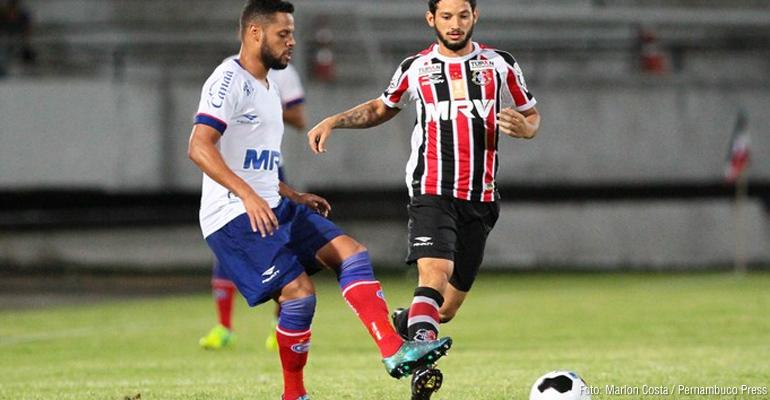 Santa Cruz e Bahia empatam na Copa do Nordeste