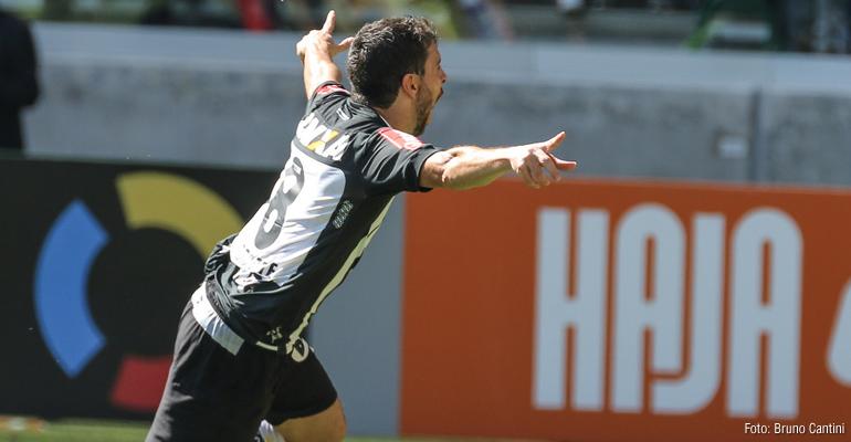 Atlético Mineiro vence o Palmeiras fora de casa