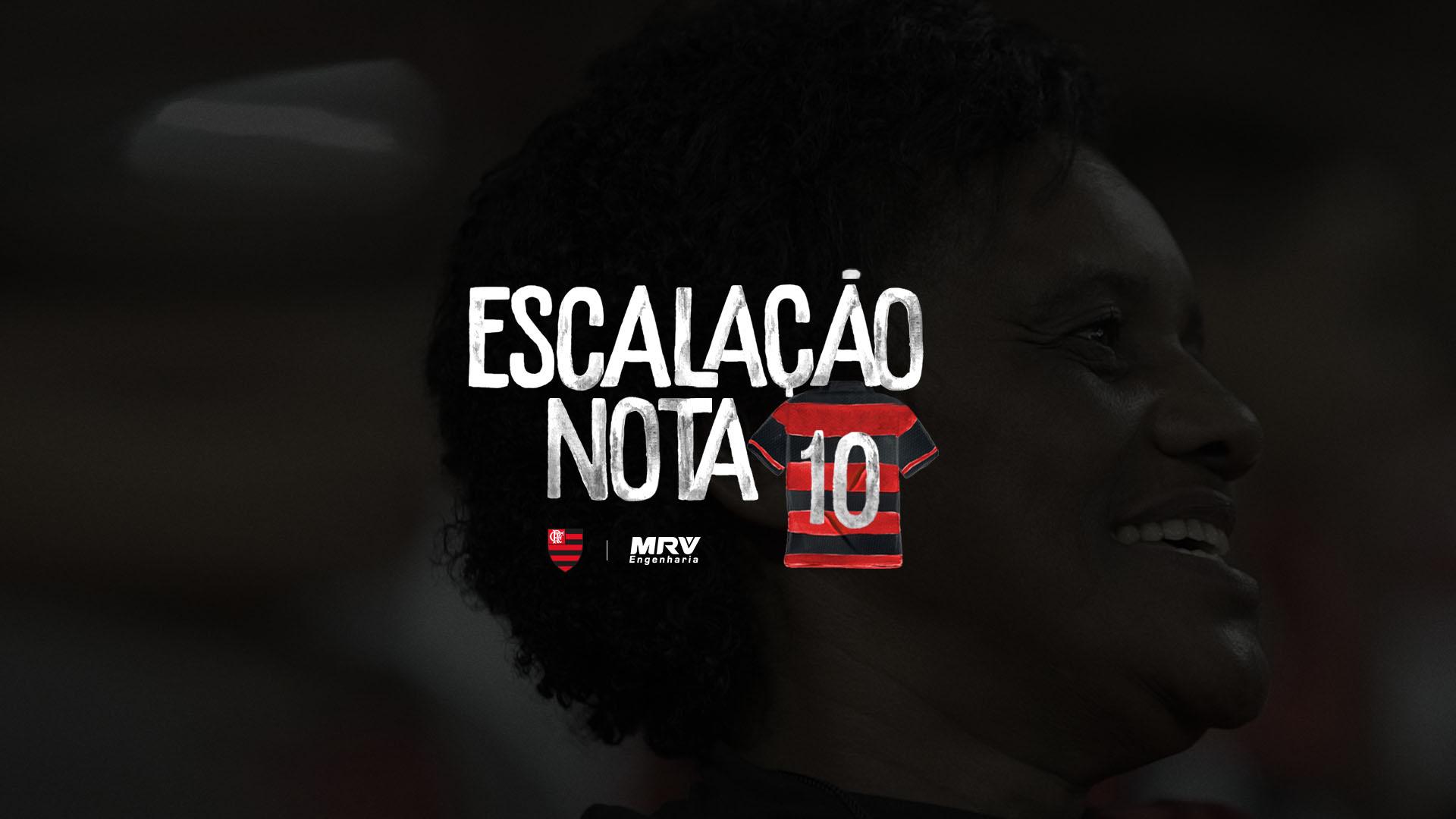 Maria Flamengo Escalação Nota 10
