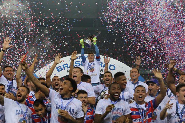 Fortaleza vence o Avaí fora de casa e conquista o título inédito da Série B