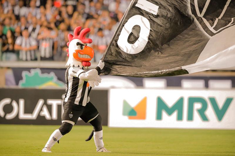 Mascote do Atlético-MG o nosso Galo Doido
