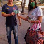 Ação MRV de distribuição de Máscaras