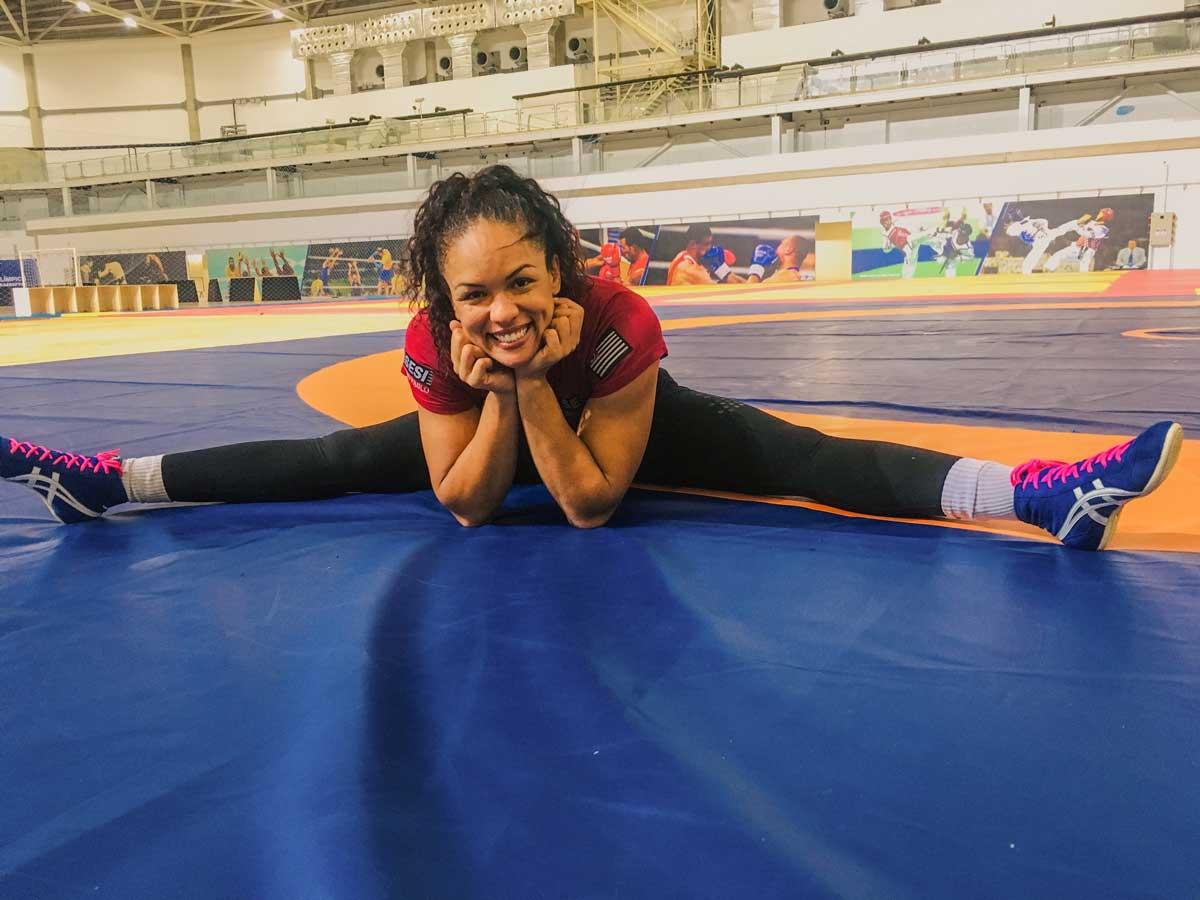 Mulheres no Esporte Aline Ferreira