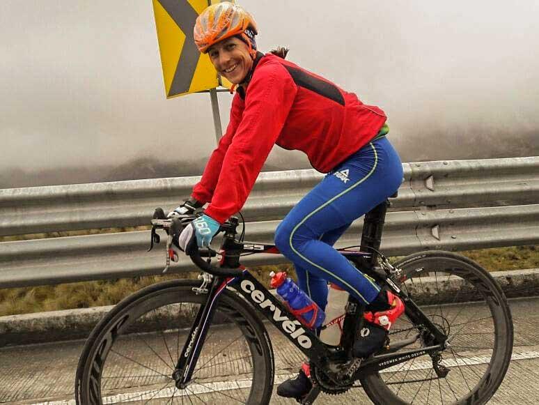 Luisa Baptista no Triathlon