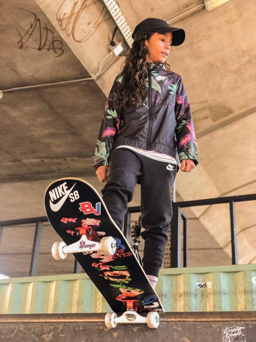 Rayssa Real no Skate