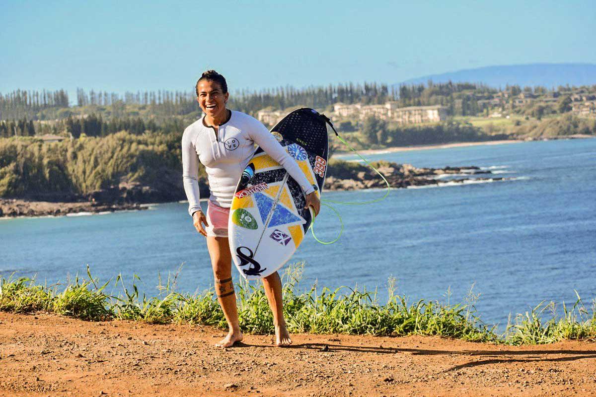 Mulheres no Esporte Silvana Lima no Surf