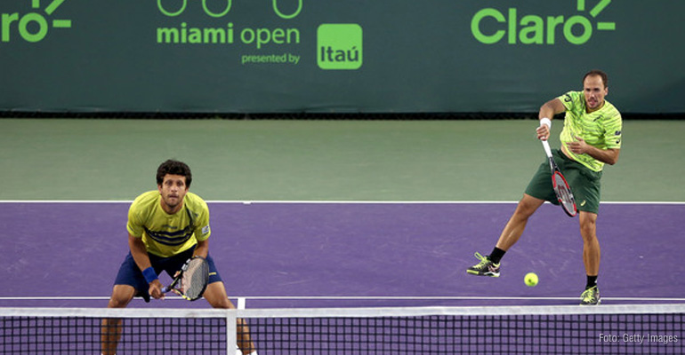 Bruno Soares e Melo retomam parcerias antigas no Masters de Montecarlo