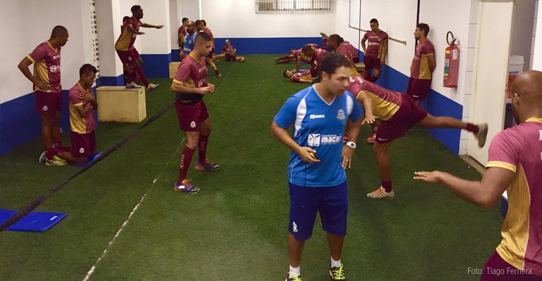 Macaé inicia preparação para a série B do Brasileiro