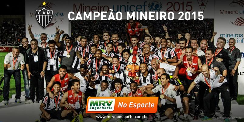 Galo é Campeão Mineiro 2015