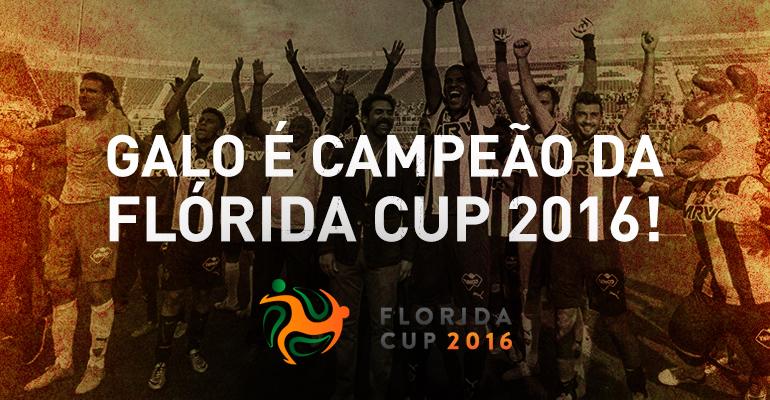 Atlético Mineiro é campeão da Flórida Cup