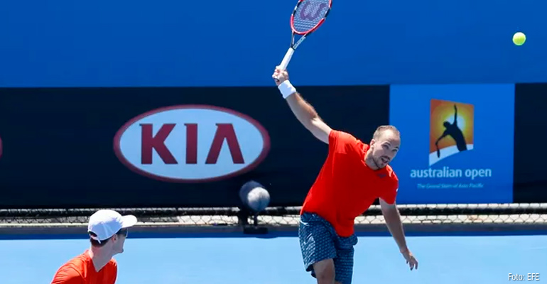 Bruno Soares mantém boa fase na Austrália
