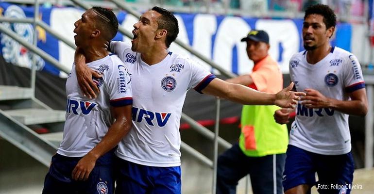Bahia vence o Paysandu na Fonte Nova