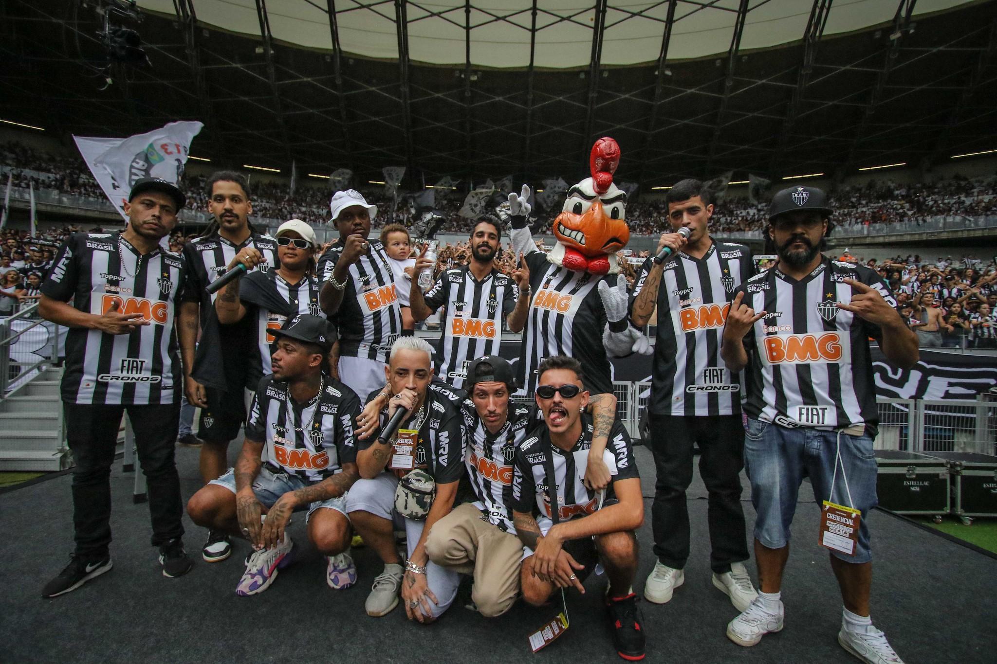 Galo comemora 111 anos com uma festa incrível em Belo Horizonte